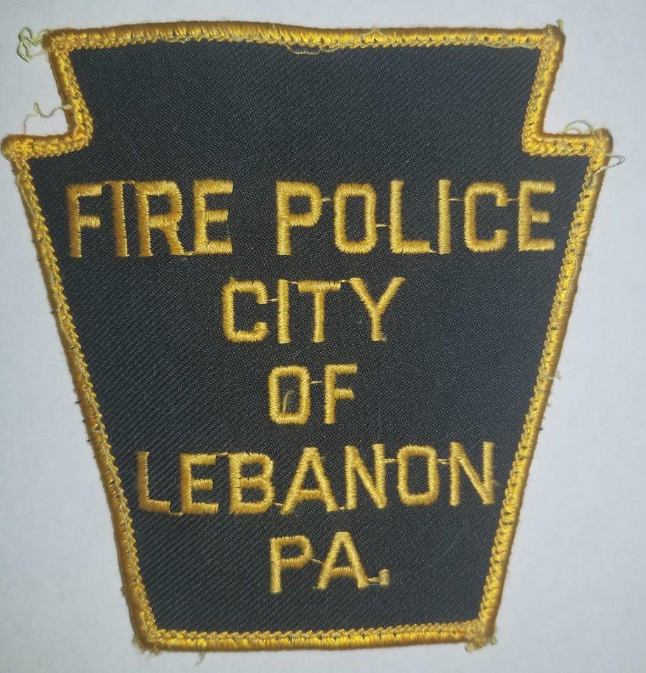Lebanon City PA Fire Police 2