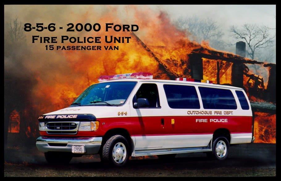 Cutchogue NY Fire Police Unit 8-5-6  1