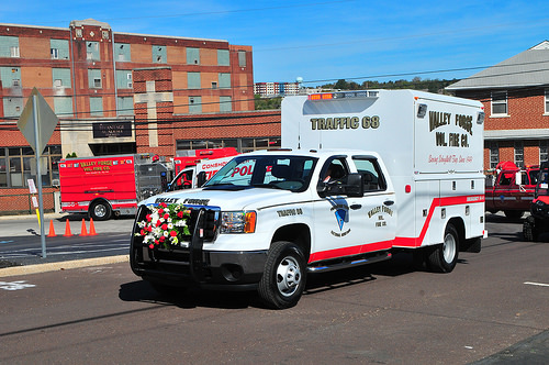 Valley Forge Volunteer Fire Company PA Traffic 68 1