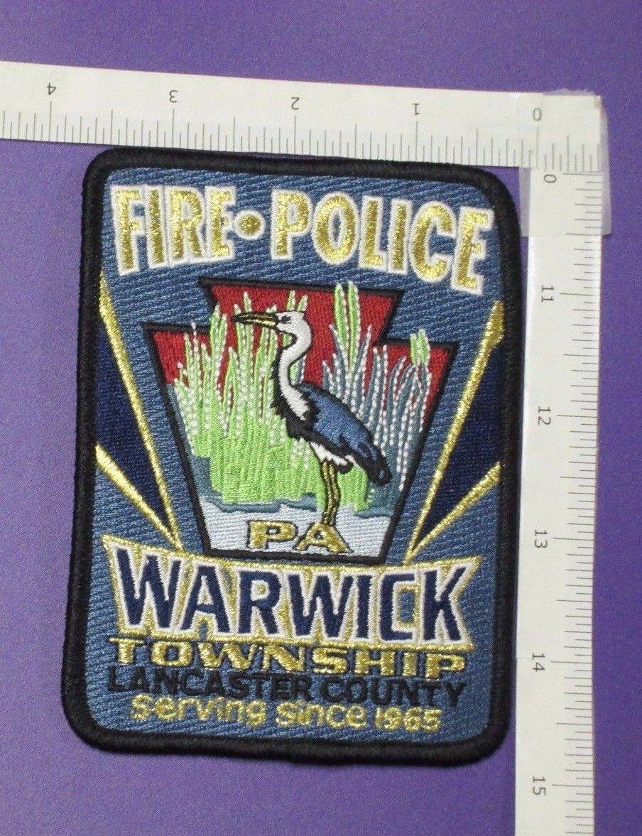 Warwick Township PA FIRE-POLICE