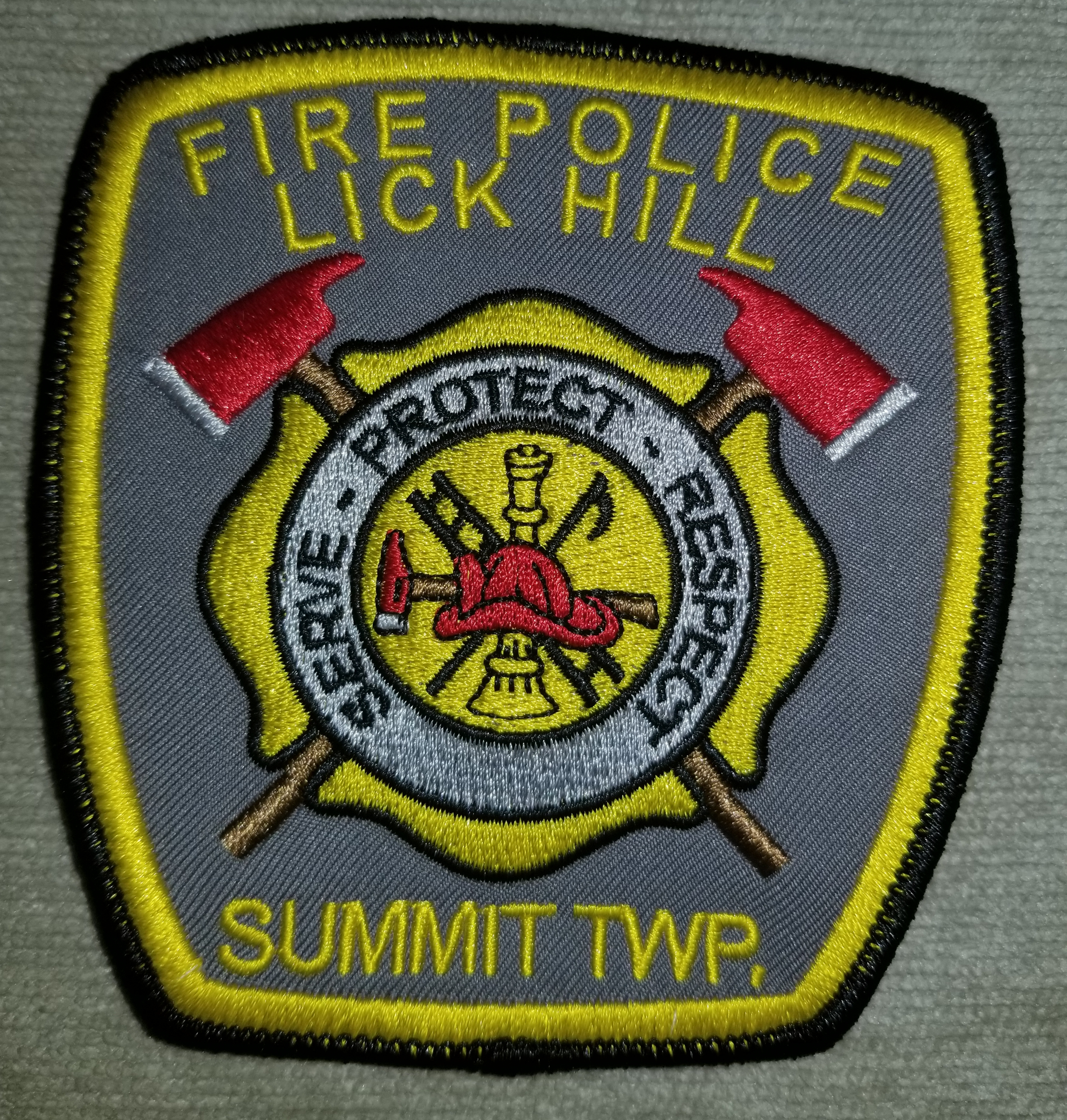 Lick Hill Summit Township Fire Police PA