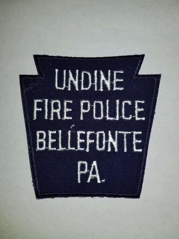 Undine Bellefonte PA Fire Police