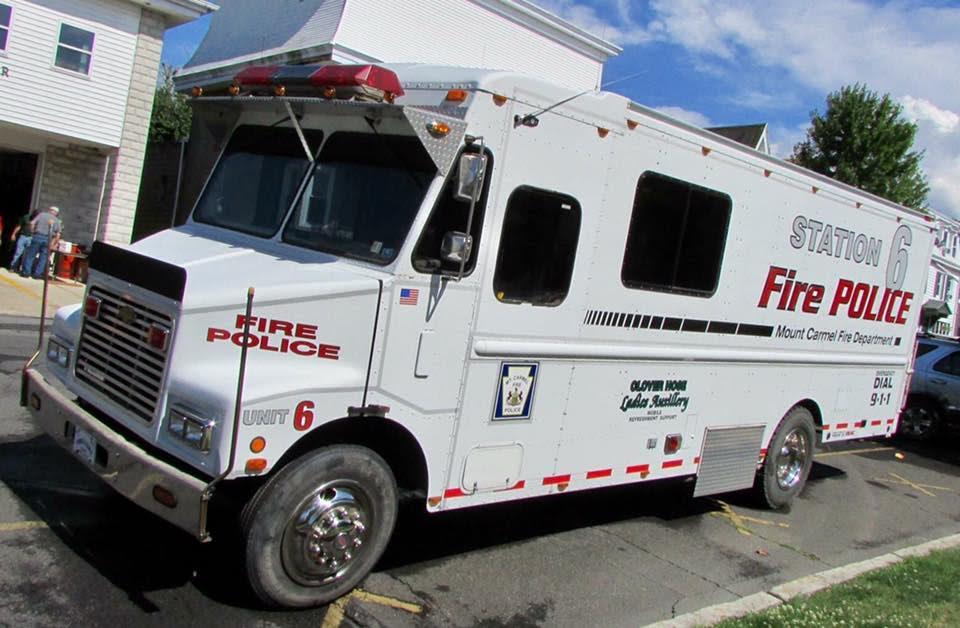 Mount Carmel PA Fire Police Department Unit 6 2