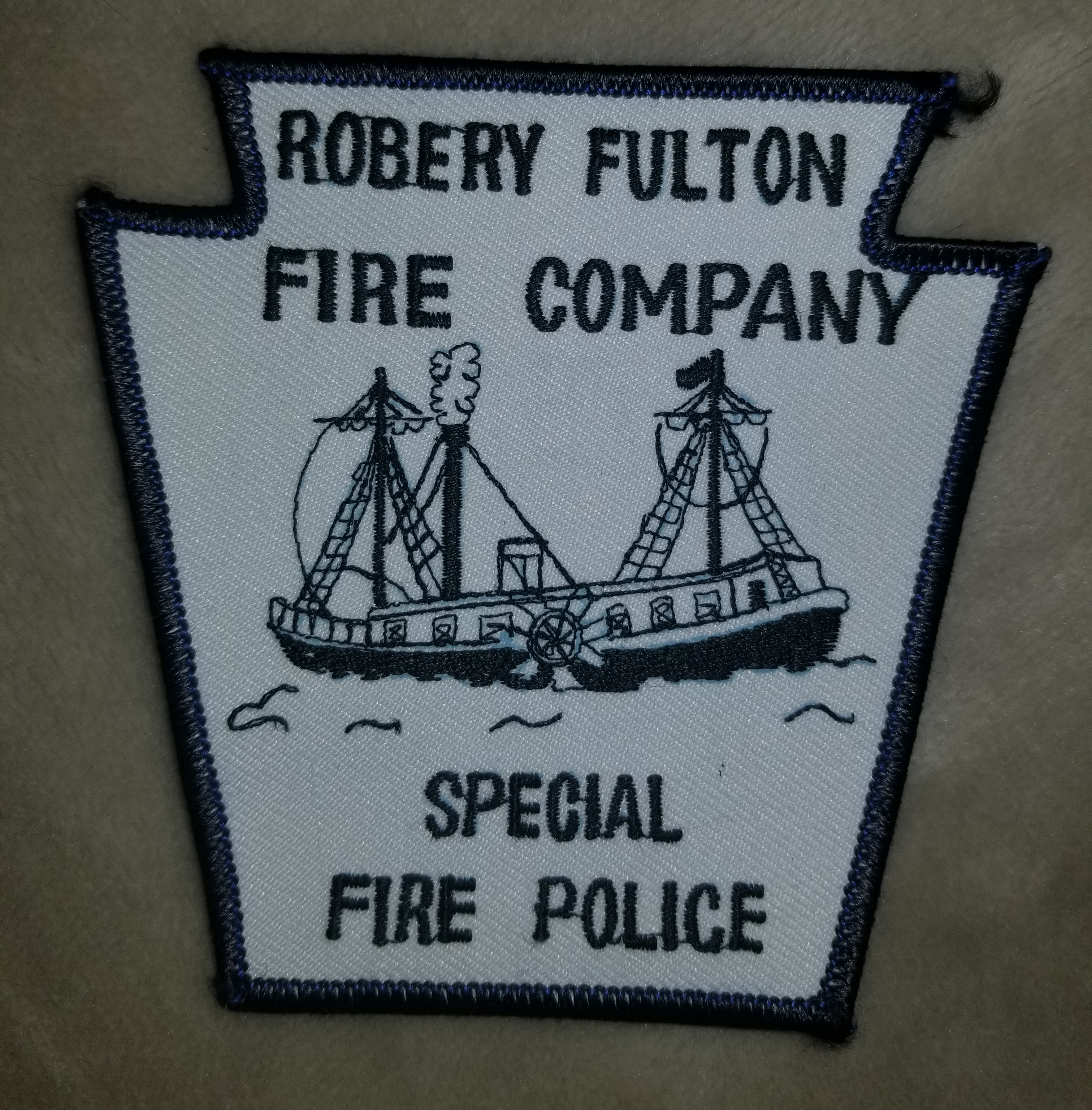 Robery Fulton Special Fire Police PA