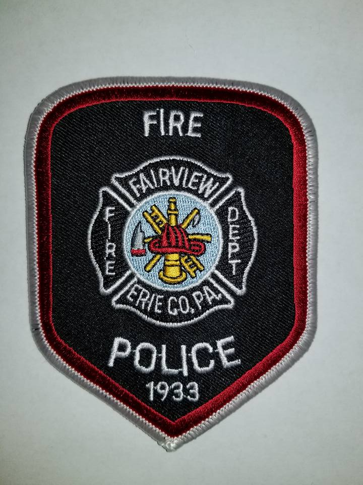 Fairview Fire Dept. Erie County PA Fire Police