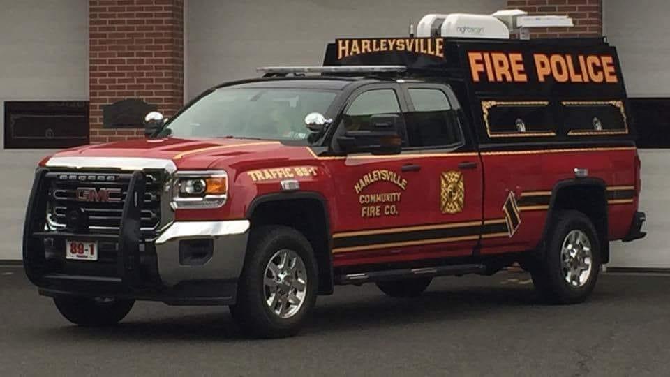 Harleysville Community Fire Company PA Traffic 89-1
