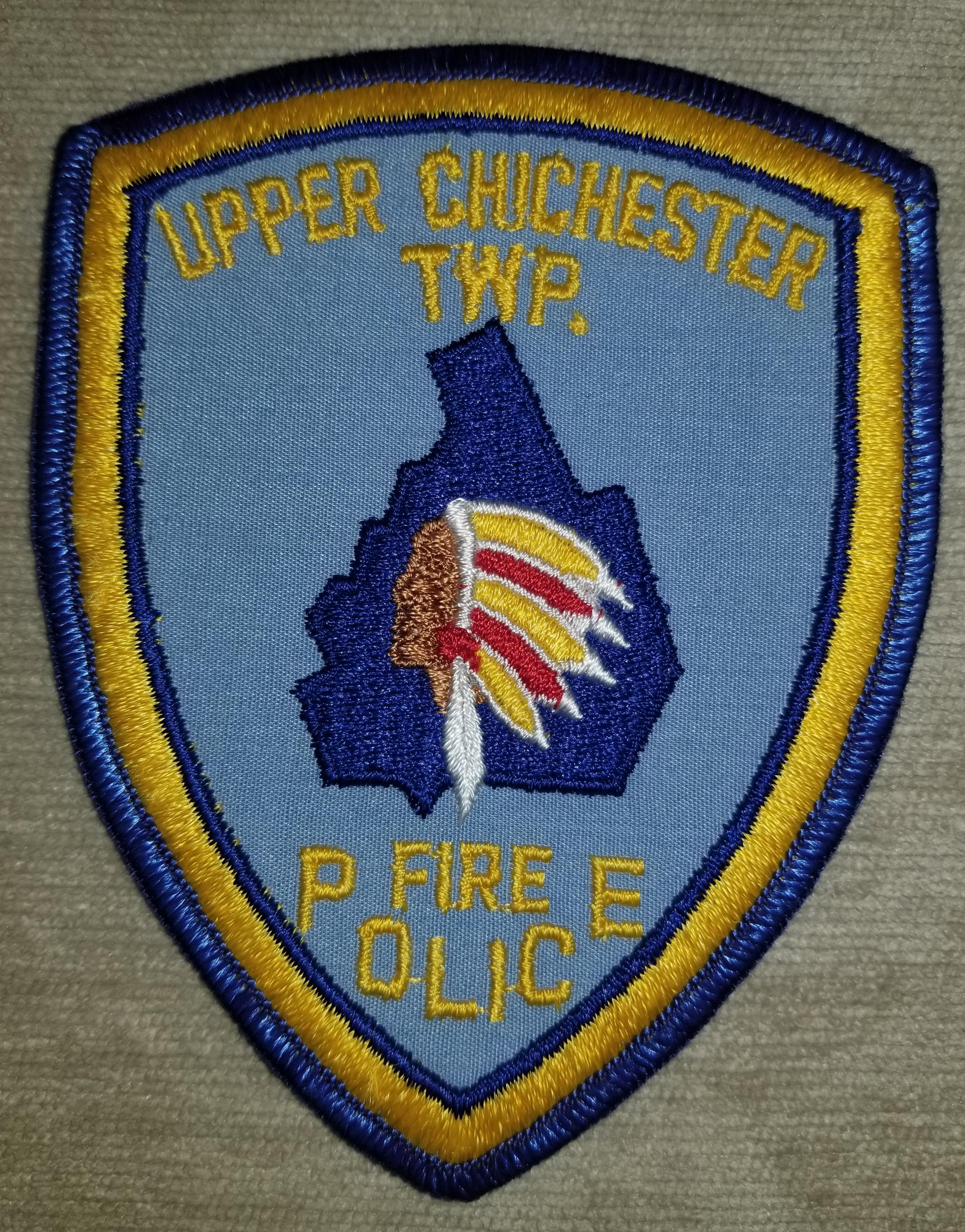 Upper Chichester Township Fire Poilice P