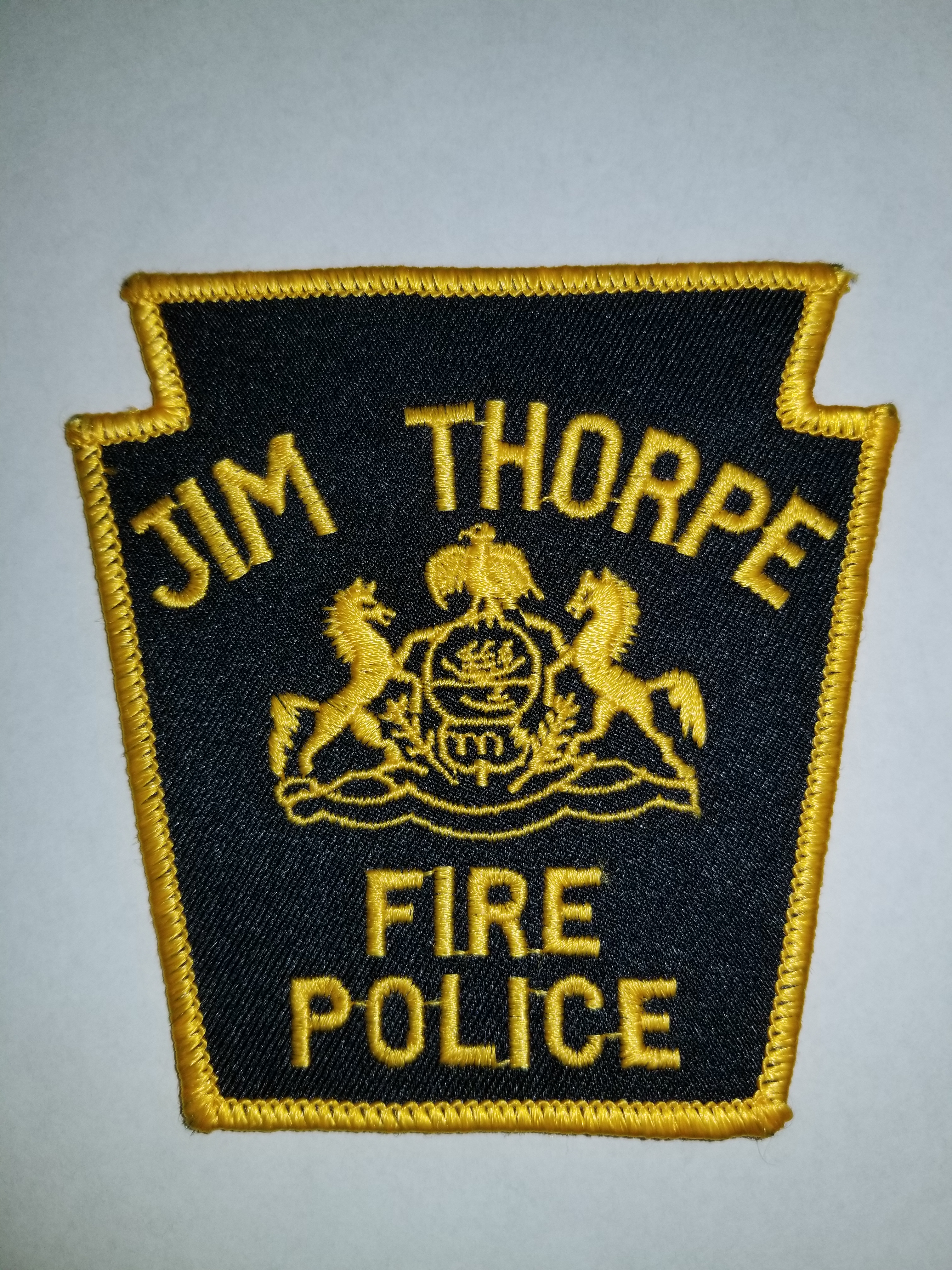Jim Thorpe PA Fire Police