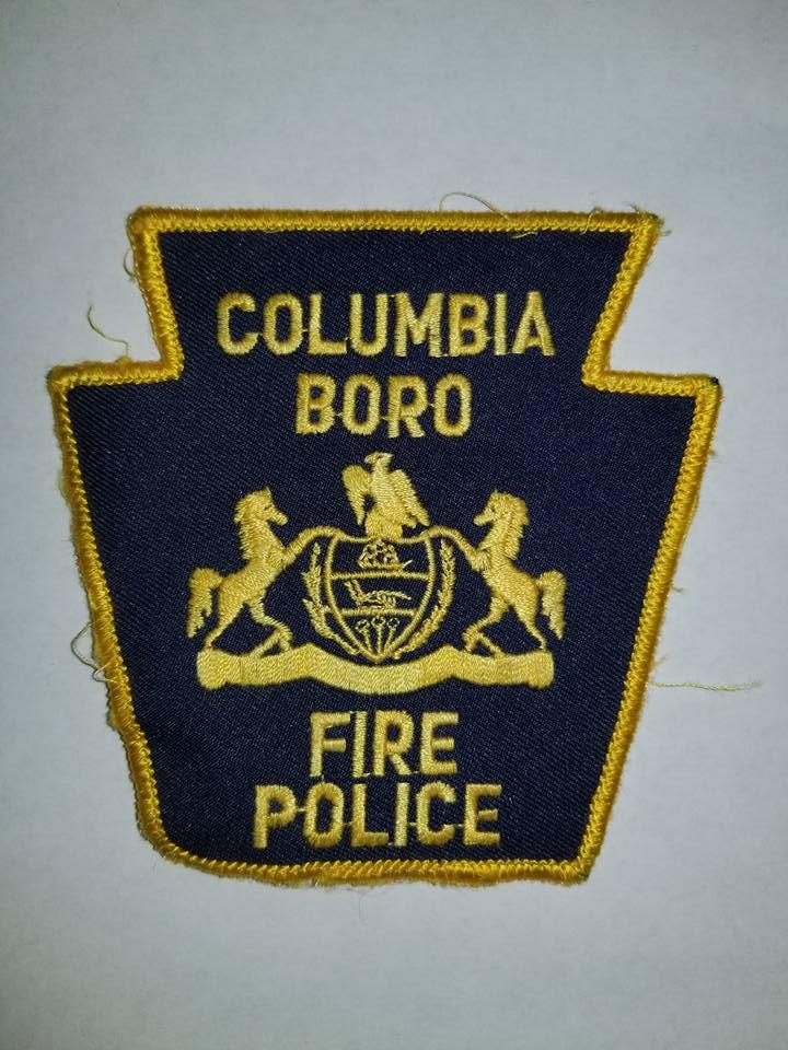 Columbia Boro PA Fire Police 1