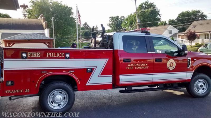 Wagontown Volunteer Fire Company PA Traffic 35 1