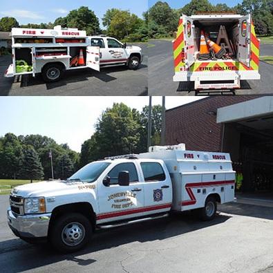 Jonesville Voluntter Fire Department - Clifton Park - NY - M-368