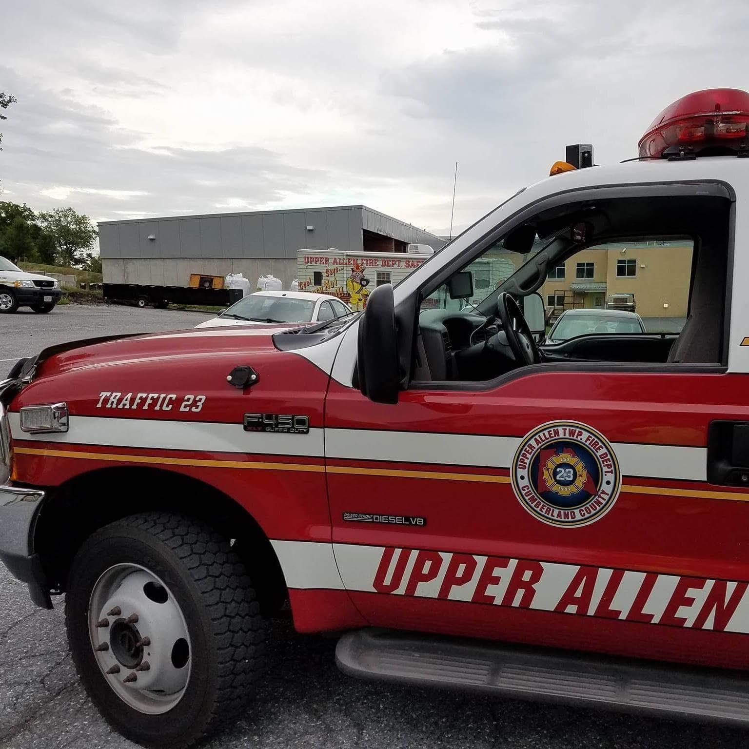 Upper Allen Fire Department Mechanicsburg PA Traffic 3