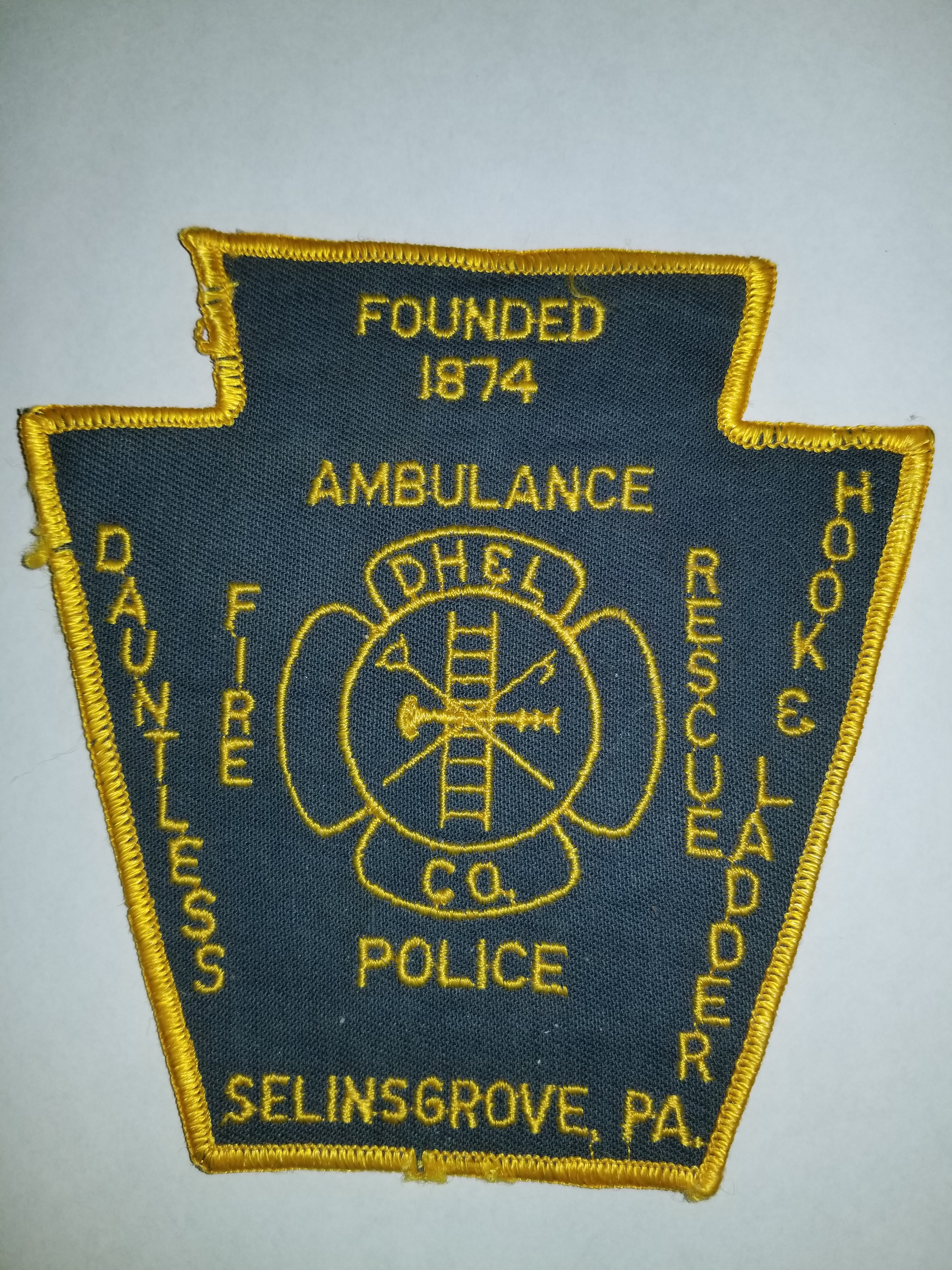 Dauntless Hook and Ladder Sellinsgrove PA Fire Police