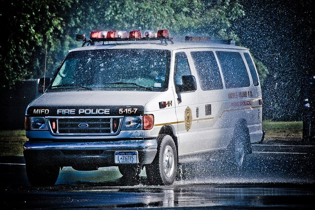 Middle Island Fire dept Fire Police unit 5-15-7