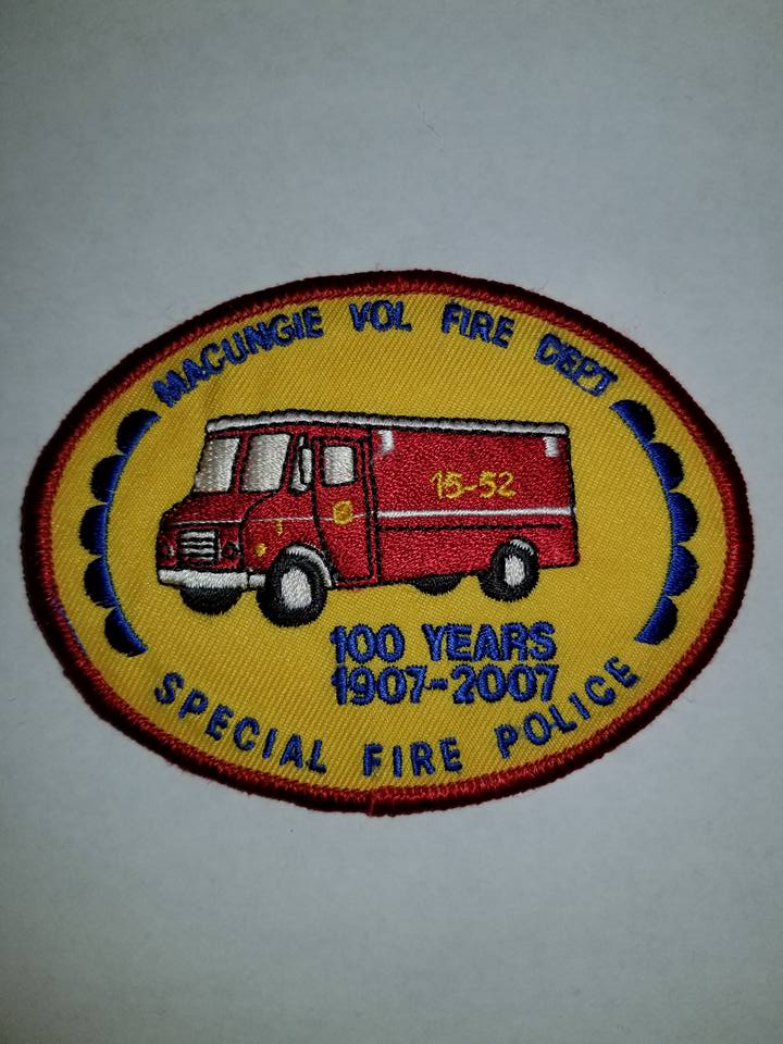 Macungie Volunteer Fire Department PA Special Fire Police