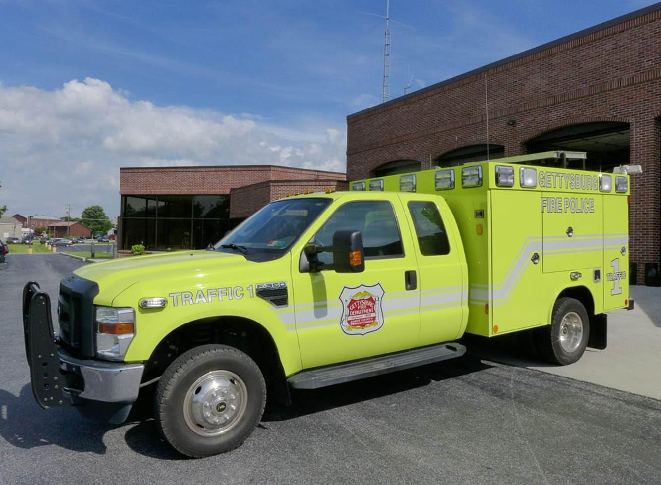 Gettysburg Fire Departement Traffic 1