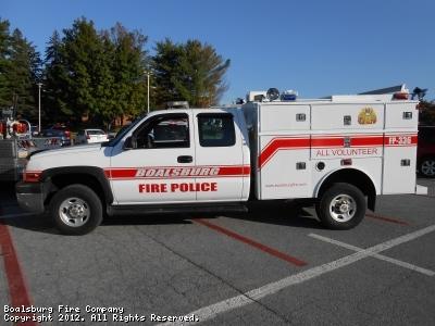 Boalsburg Fire Company - PA - Traffic 3
