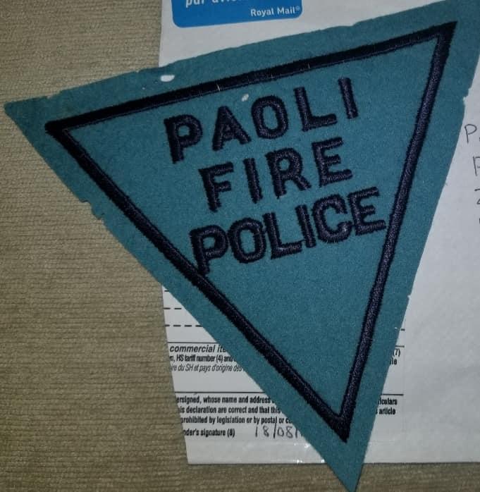 Paoli Fire Police PA