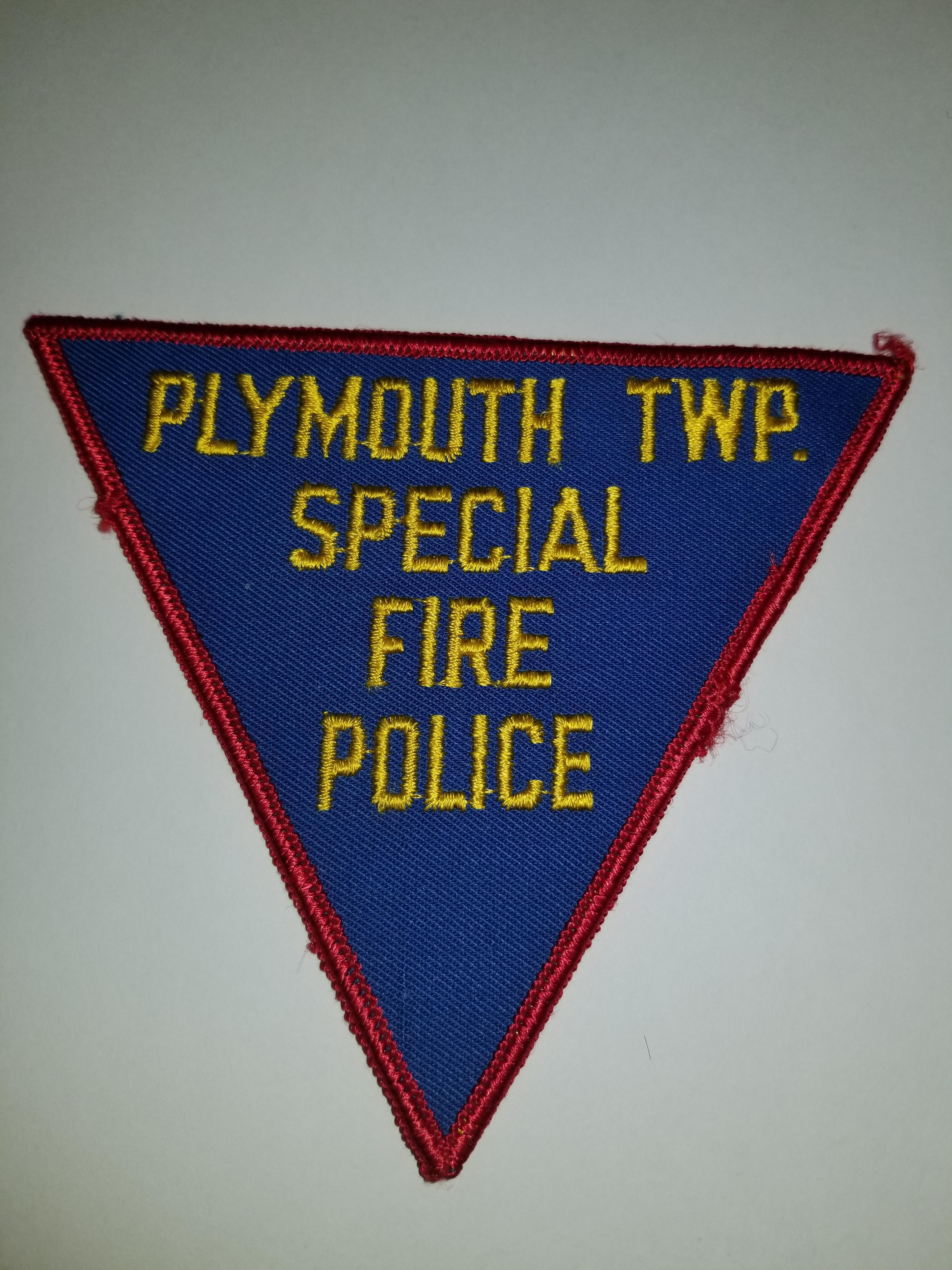 Plymouth Township PA Special Fire Police