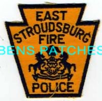 EAST STROUDSBURG FIRE POLICE PA