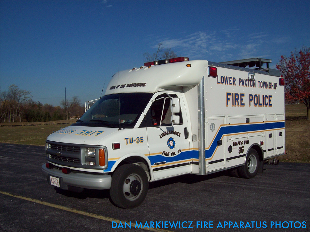 Lower Paxton Township Linglestown PA Fire Police Traffic 35
