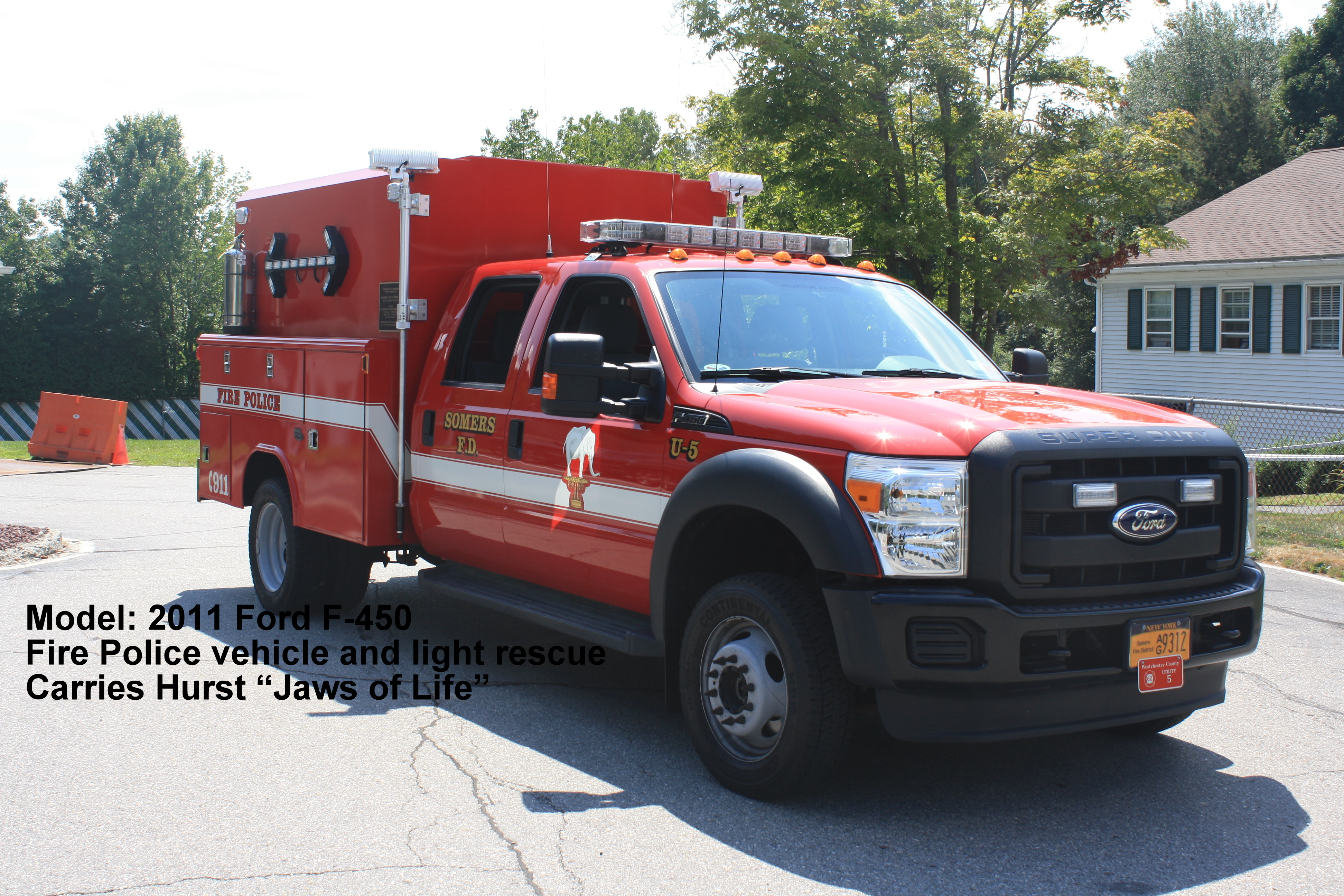 Somers Fire District NY U-5 Fire Police 2