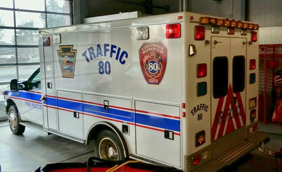 Columbia Borough - Lancaster County PA - Traffic 80 2