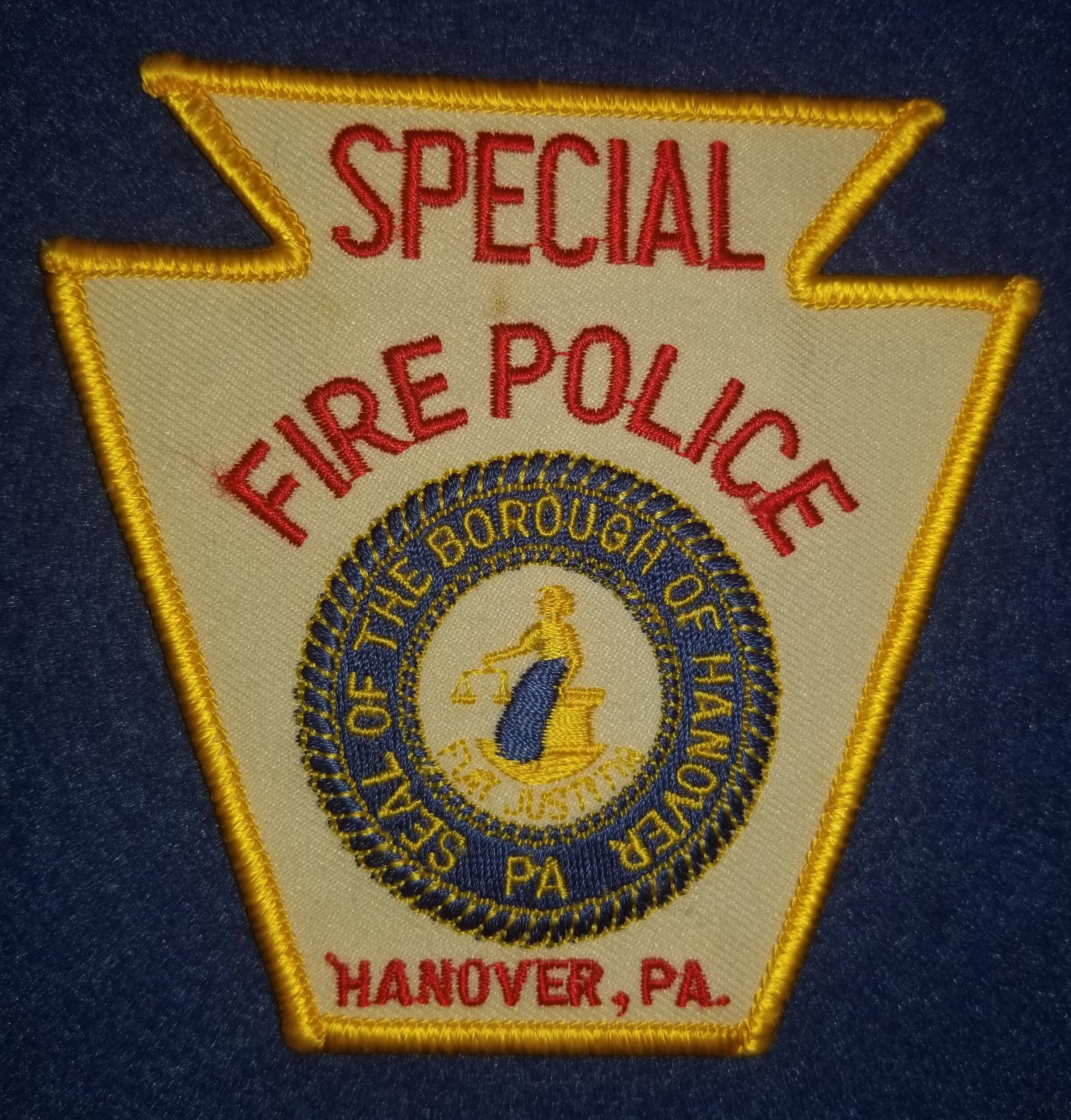 Hanover Borough Fire Police PA