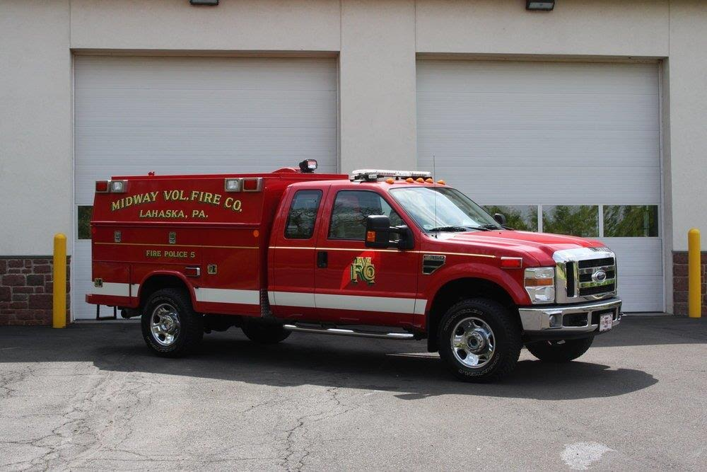 Midway Volunteer Fire Company Lahaska PA Fire Police 5