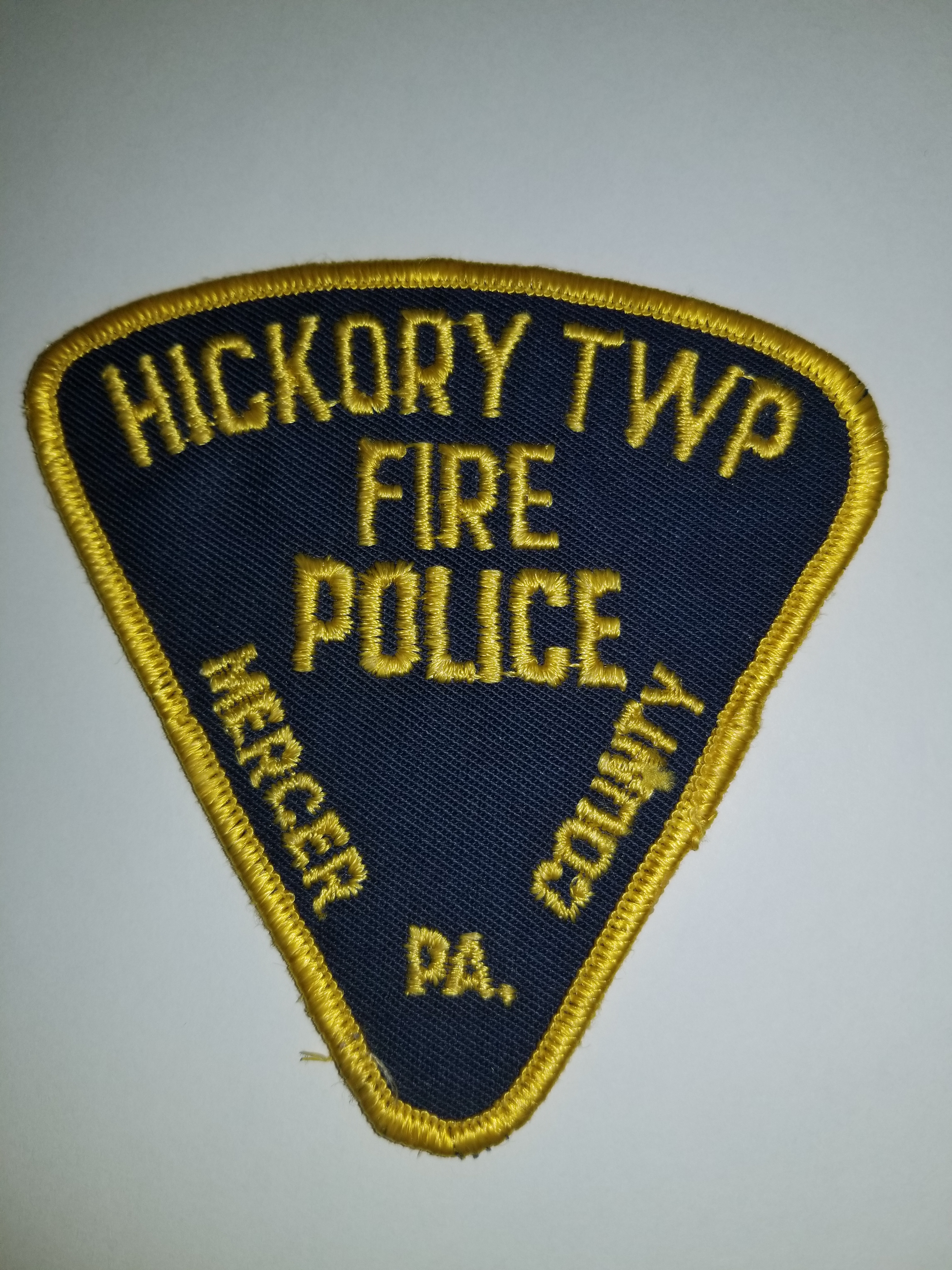 Hickory Township Mercer County PA Fire Police