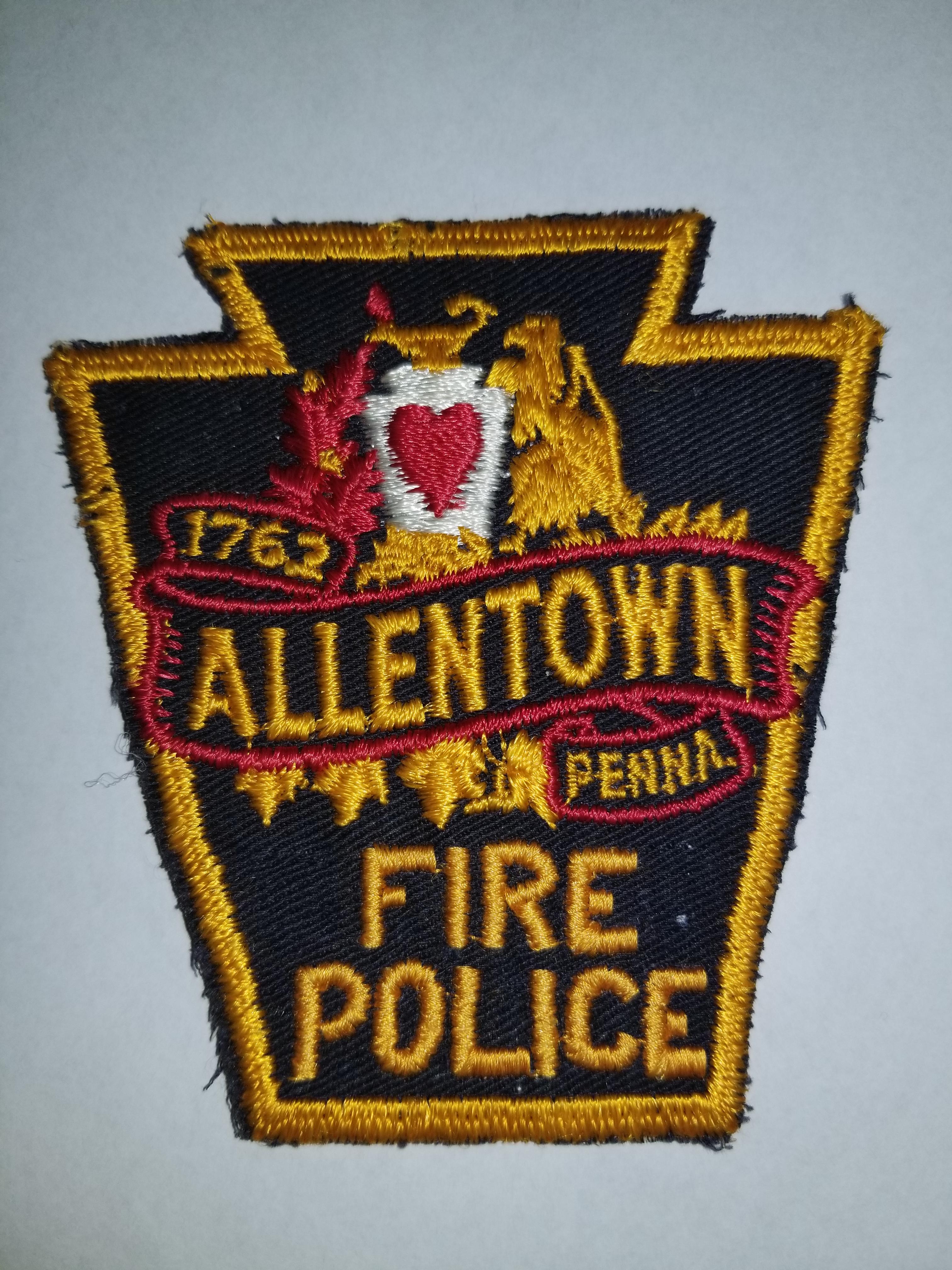 Allentown PA Fire Police