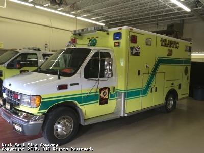West Earl Fire Company - Traffic 29