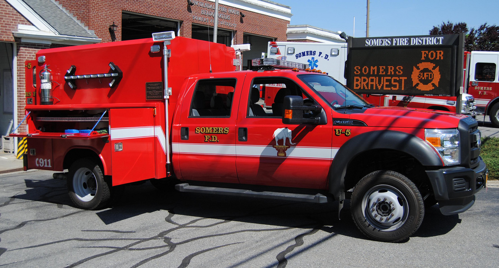 Somers Fire District NY U-5 Fire Police