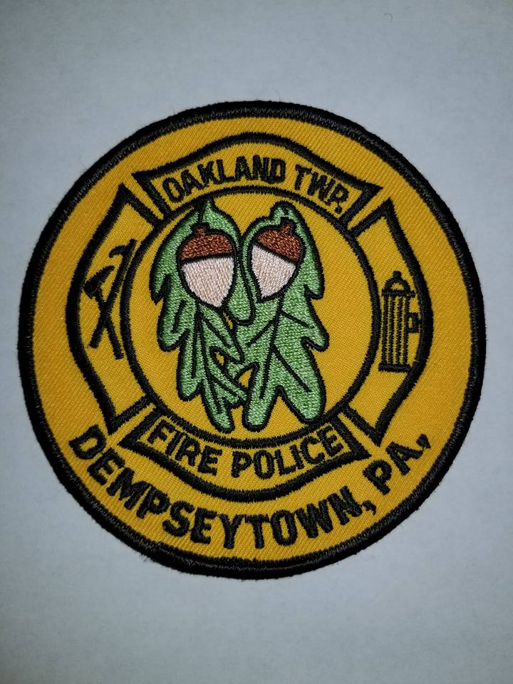 Oakland Township Dempseytown PA Fire Police
