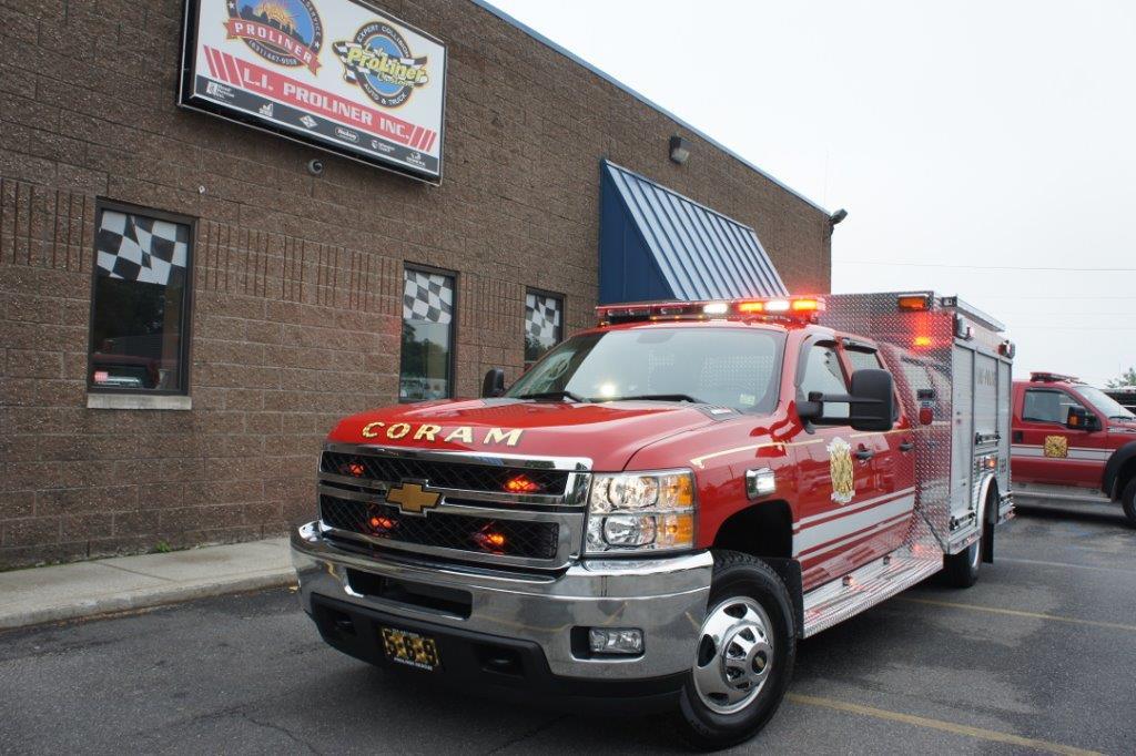 Coram Fire Police NY  5-6-9   12