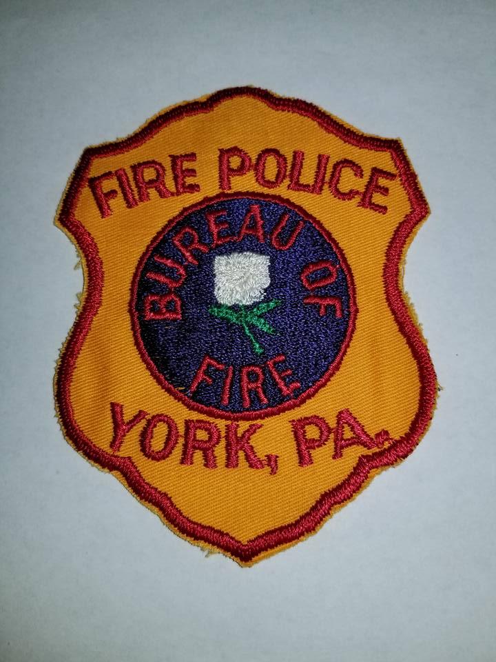 York Bureau of Fire PA Fire Police