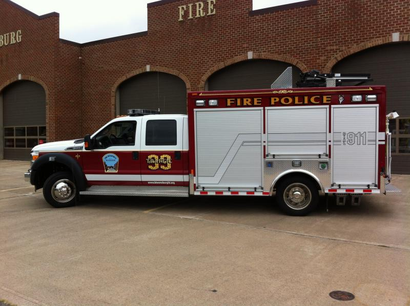 Bloomsburg Fire Company Fire Police Unit 39 1