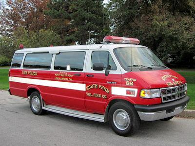 NORTH PENN FIRE COMPANY PA - Traffic 62