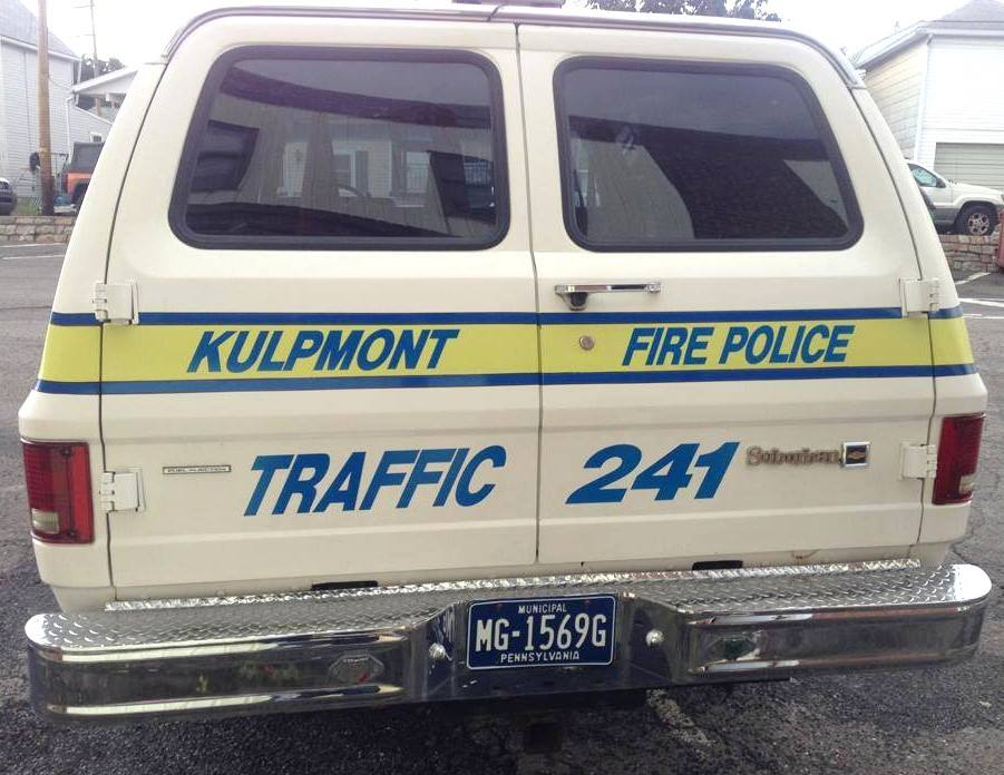 Kulpmont Fire Police Traffic 241 2