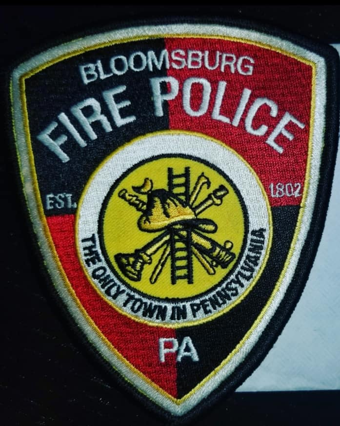 Bloomsburg Fire Police PA