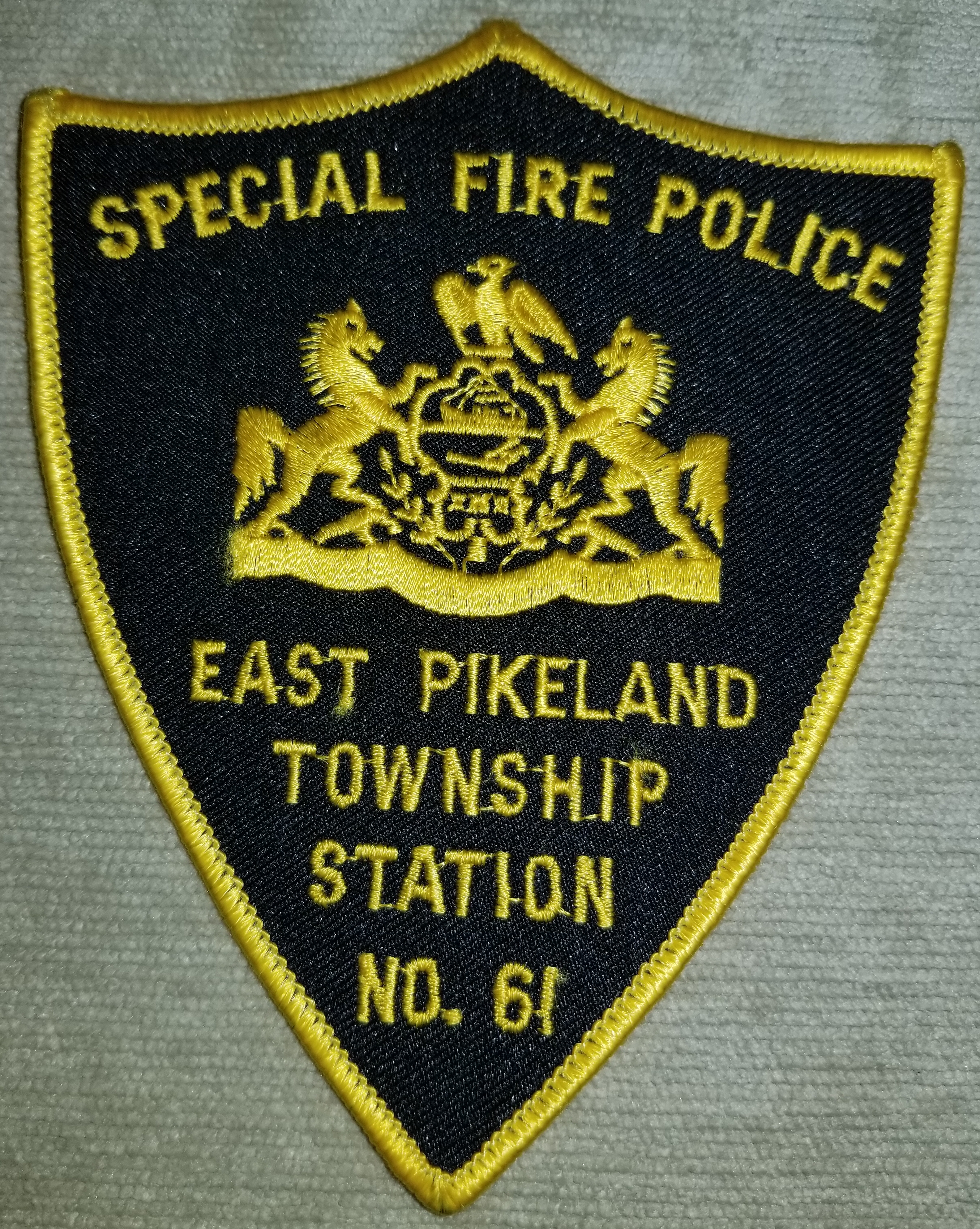 East Pikeland Township Special Fire Poli