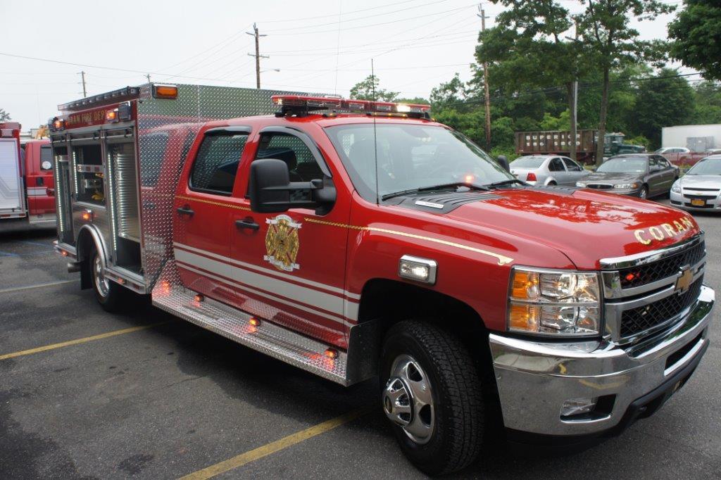 Coram Fire Police NY  5-6-9   8
