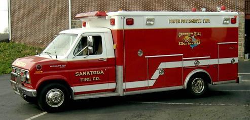 Sanatoga Fire Co. PA Traffic 58 OLD