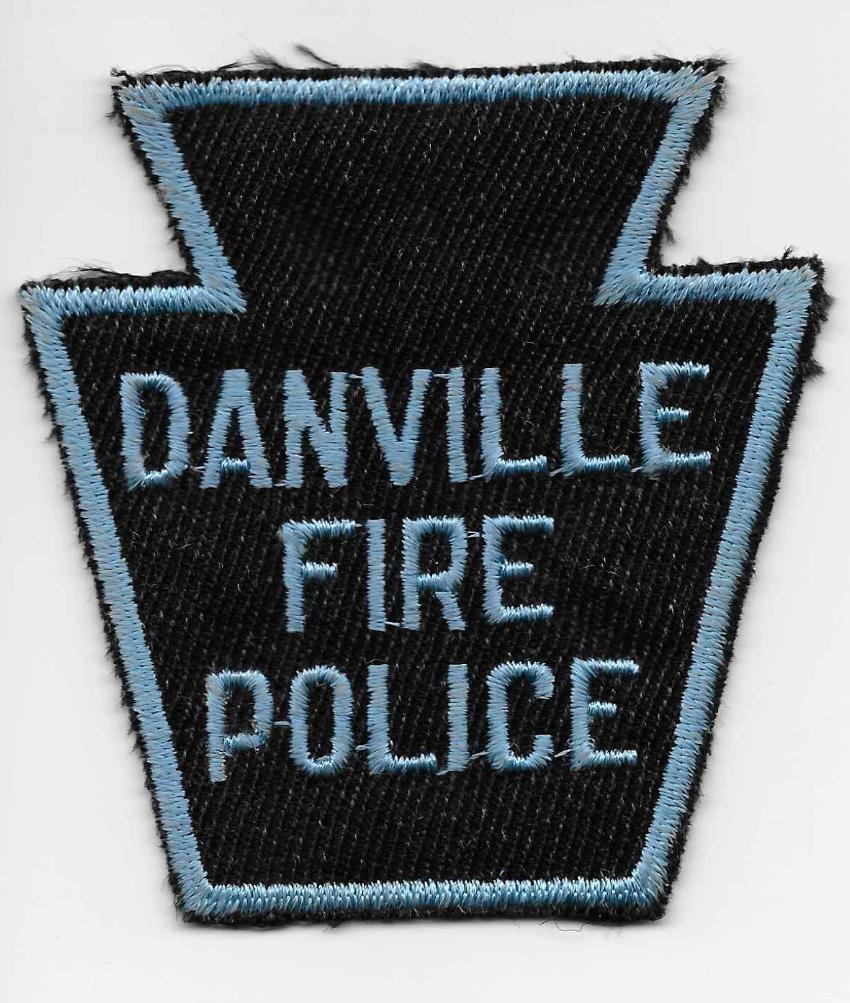 Danville PA Fire Police 2