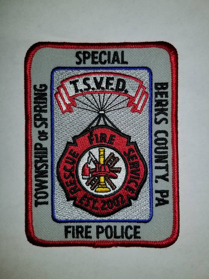 Spring Township Berks County PA Special Fire Police