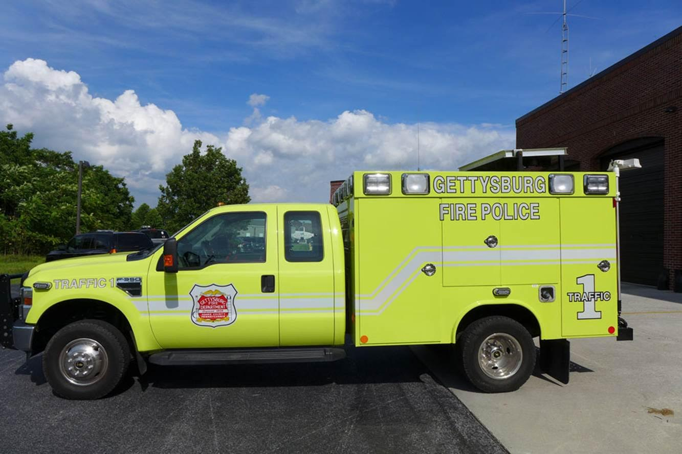 Gettysburg Fire Departement Traffic 1 2