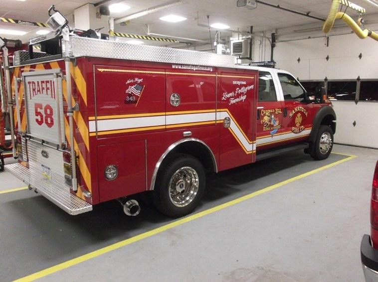 Sanatoga Fire Company - Montgomery County PA - Traffic 58 7