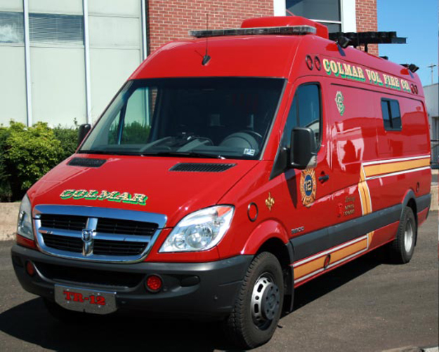 Colmar Fire Company PA Traffic 12 -