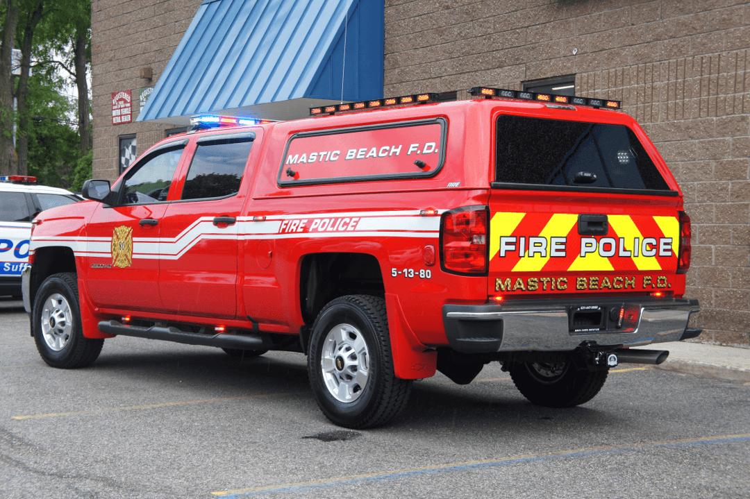 Mastic Beach F.D.  NY Fire Police 5-13-80