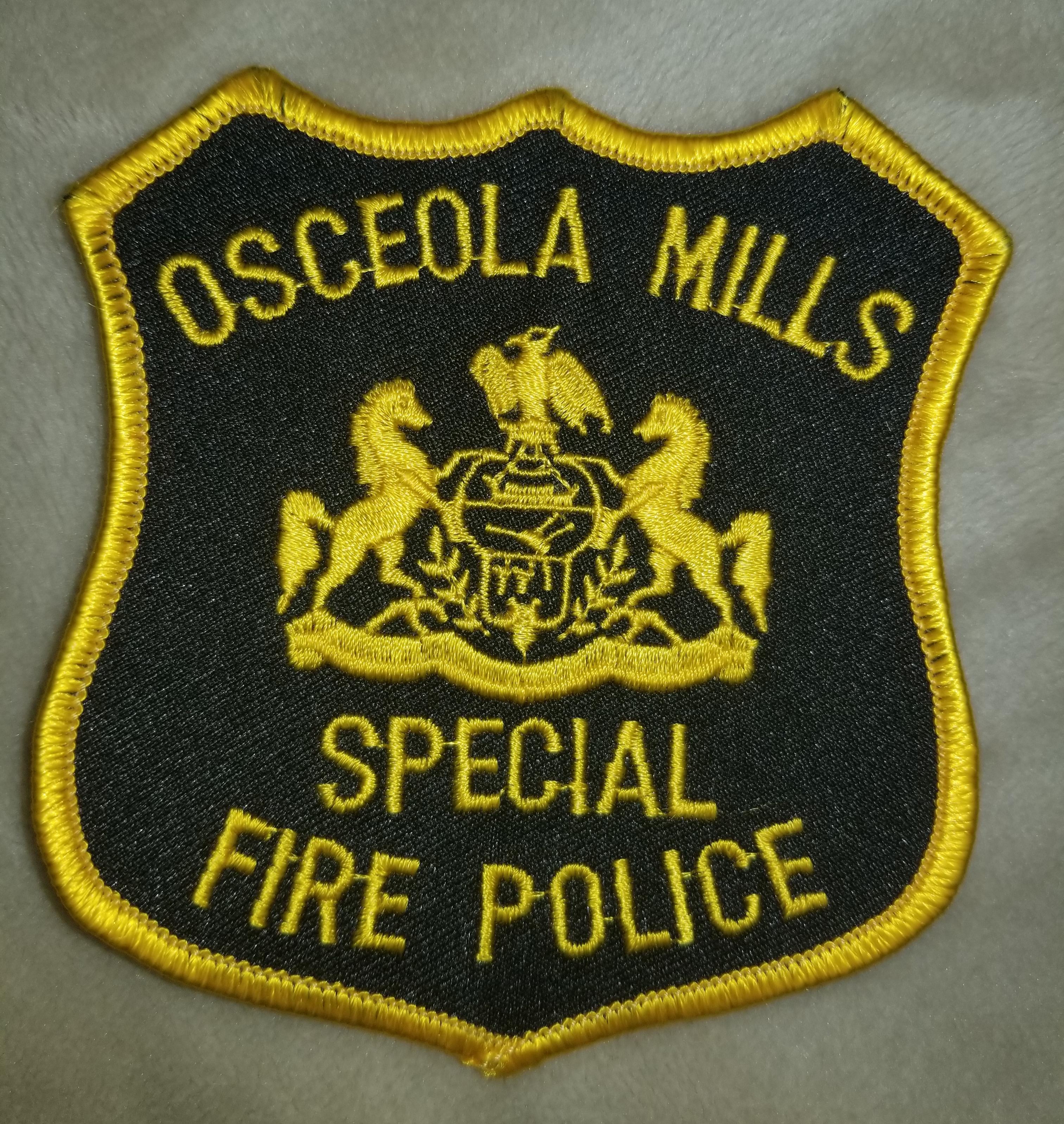 Osceola Mills Fire Police PA